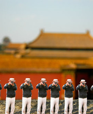 The Forbidden City, Beijing | Japanese Guerilla Paparazzi World Tour