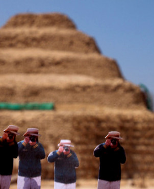 Saqqara,  Egypt | Japanese Guerilla Paparazzi World Tour