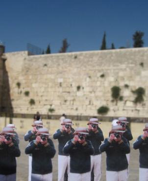 Wailing Wall, Jerusalem | Japanese Guerilla Paparazzi World Tour