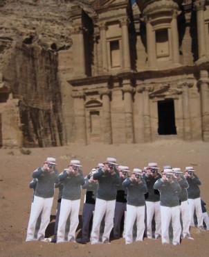 Petra, Jordan | Japanese Guerilla Paparazzi World Tour