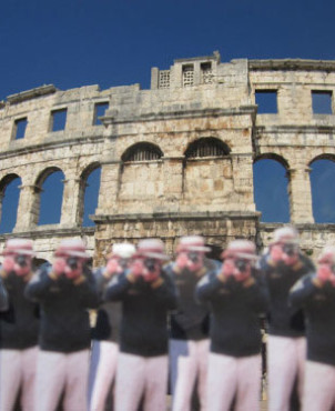 Pula Arena, Croatia | Japanese Guerilla Paparazzi World Tour