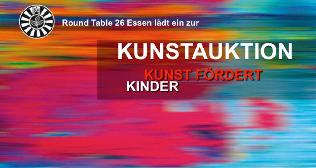 """10. Kunstauktion aRTessen """"Kunst fördert Kinder"""""""