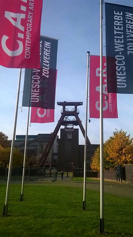 Contemporary Art Ruhr, innovative art fair at the World Heritage Site Zeche Zollverein in Essen, Foto: Directors Lounge